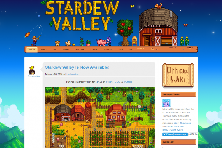 Stardew Valleyの日本語化とかMOD導入とか